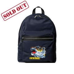 KENZO 'Tiger Face' backpack - Dark Blue