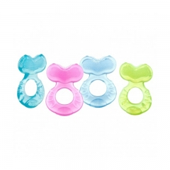 Nuby Comfort Silicone Fish Shaped Teether 11.11