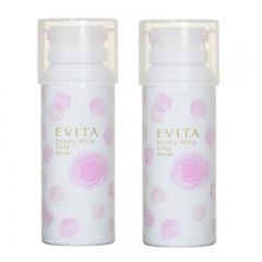Kanebo Evita Rose Foam Beauty Whip Soap 150g x 2