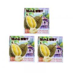 Durian Freeze Dried 50g x 3 Packs