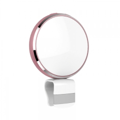 WONEW Mobile Phone Selfie Mirror with LED Flash Light  Rose Gold