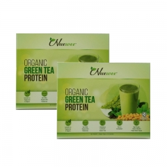 Nuewee Organic Green Tea Protein Powder Twin Pack (20 Sachets)