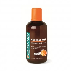 Geomar Natural Oil Almonds and Rice - 250ml