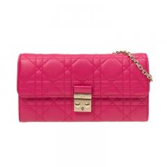 Christian Dior S0068_OGAI_431 Lambskin Pink Dior Bag