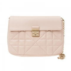 Christian DIOR S1281 _OGAC_413 Cowhide Light Pink Dior Bag
