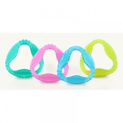 NUBY Comfy Gums Triangle Silicone Teether - 1pc