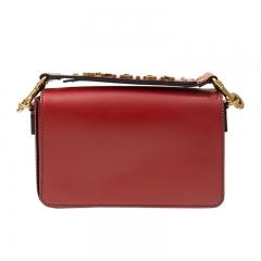 Christian DIOR M9001CVQV40R Cowhide Red Handbag