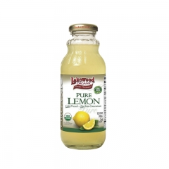 Lakewood Organic Pure Lemon 12.5oz 1 bottle 12.5 OZ