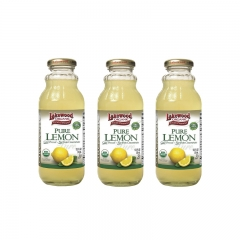 Lakewood Organic Pure Lemon 12.5oz 3 bottles 12.5 OZ