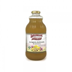 Lakewood Organic Lemon-Ginger with Echinacea 32oz 1 bottle 32OZ