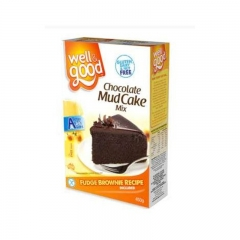 Well & Good Gluten Free Chocolate Mud Cake Mix 475g