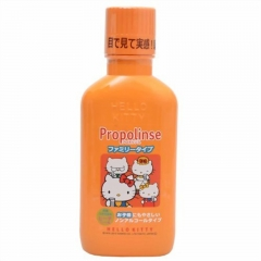 Japan Hello Kitty Propolinse Mouth Wash Oral Care Rinse 400ml