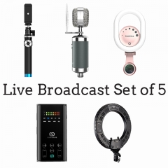 Live Broadcast Set(Set of 5)