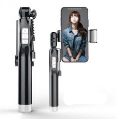 Selfie lights tripod stick with Bluetooth remote control - 2 lights, detachable tripod for live broadcast
