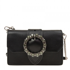 MIU MIU Handbag 5BL001 2EJA F0632 Calfskin Black