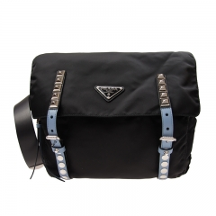 PRADA Handbag 1BL013 2BYB F0KKT Nylon Black