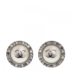 NEW CHANEL A53135 Metal Sliver Earrings