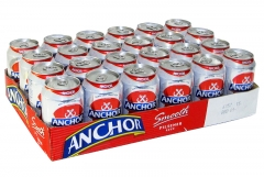 Anchor Smooth Pilsener Beer Can 320ml 1 Carton