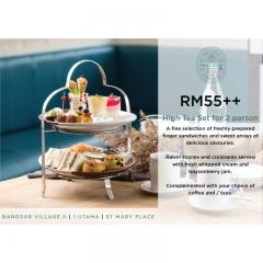 Malaysia High Tea Set for 2 -  Delicious Restaurant