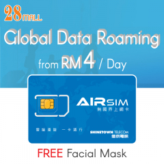 AIRSIM - Global Wifi Roaming VPN Prepaid SIM Card