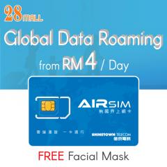 AIRSIM - Global Wifi Roaming VPN Prepaid SIM Card