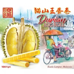 Sunshine Kingdom Durian Egg Roll 100g x 3