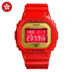 2019 G-shock China Limited Edition DW-5600CX-4PRP HK Watch